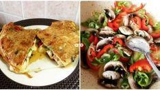 Üçgen Börek Tarifi | Sosyal Tarif Vegetable Omelette Recipes, Vegetable Pizza, Food Articles, Sauerkraut, Cookie Recipes, Dinner Recipes, Cookies, Chicken, Vegetables