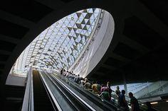 Budapest Underground Line M4 - Bikás Park Station,© Tamás Bujnovszky