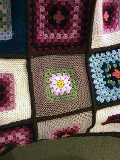 Ravelry: Project Gallery for Granny Log Cabin Blanket pattern by Miriam L. Felton