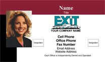 Exit Realty Business Card WP1011. Visit http://www.bestprintbuy.com/exit-realty/exit-realty-business-cards/exit-realty-business-cards-with-photo.htm