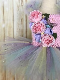 Fairy Tutu, Girls Fairy Tutu Dress, Fairy Halloween Costume, Girls Fairy Dress, Fairy Costume, Fairy Birthday 1st Birthday Tutu, Fairy Birthday, Tutu Dresses, Girls Dresses, Flower Girl Dresses, Ladybug Tutu, Fairy Halloween Costumes, Fairy Dress, Tutus For Girls