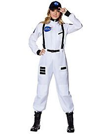 Forplay womens Nasa Astronaut romper costume set