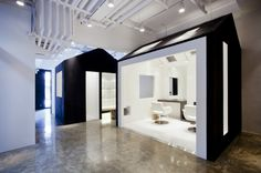 Miega hair salon by BANG by MIN, Seoul store design Hair Salon Interior, Salon Interior Design, Salon Design, Space Interiors, Office Interiors, Barbershop Design, Workspace Inspiration, Workplace Design, Salon Style
