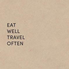 #eatwell #traveloften #goodtravel #organicfood #travel