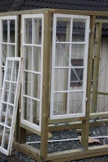 La deg sjarmere av 4 i KIELLANDSGATAS herlige drivhus. Vibeke og mannen har snekret seg et nydelig lite hus av gamle vinduer, som står støtt...