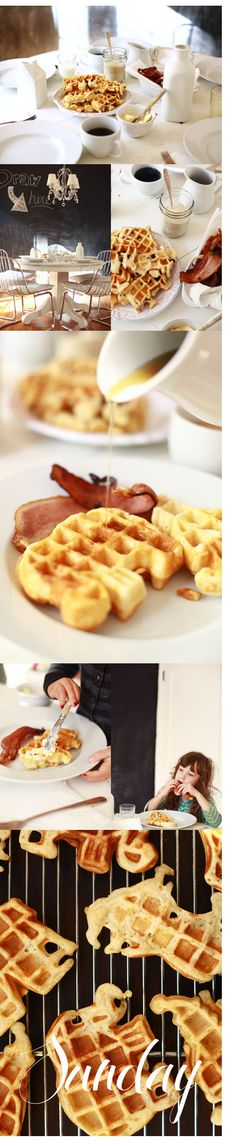 """the most delicious waffles EVER"" · jen altman · nectar & light"