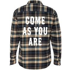 Flannel Shirts Come As You Are