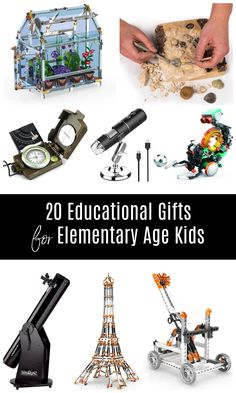 Find fun but educational gifts for your elementary students this Christmas with this gift guide! Covering a variety of subjects, from engineering, to architecture, to botany, and more, you're sure to find a fabulous gift your child will love! #festivechristmas Educational Activities, Learning Activities, Building Toys For Kids, Gifted Education, Learning Through Play, Botany, Diy For Kids, Teacher Gifts, Gift Guide