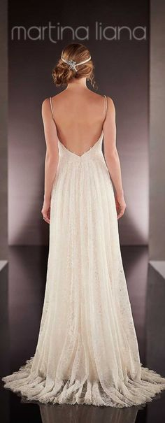 Simple. Elegant. Gorgeous. Martina Liana Spring 2016 Bridal Collection - Belle The Magazine.