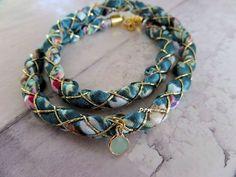 Bohemian satijn armband