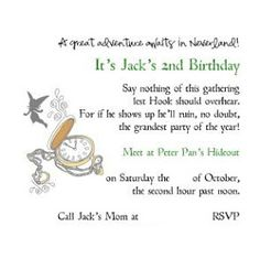 Stories From A Crazy Mom: Peter Pan Birthday Party