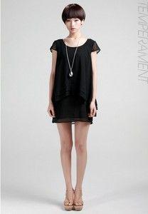 Oversized Chiffon Loose Multi Layer Dress YW41 plus1x-10x (SZ 16-52)