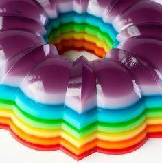 Fazer gelatina colorida! ^.^
