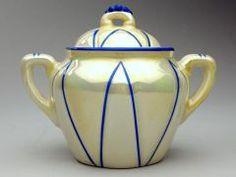 Sugar bowl CZECHOSLOVAKIAN (CZECHOSLOVAKIAN) C. 1925-1950