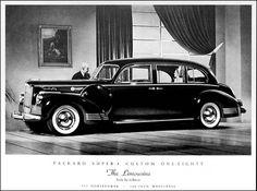 1942 Packard Super 8 Custom 180 Limousine by Lebaron