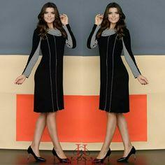Como o friozinho está chegando, nada melhor do vestidos quentinhos para ir no culto 😉😉  Esse e muitos outros modelos disponíveis no nosso site  www.lolapolan.com.br  #lolapolan #roupas #conjutos #moda #vestidos #modafeminina #modaevangelica #moda #colaçaodeinveno ❤😚❤