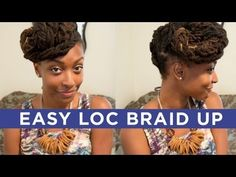 This is an easy style that combines a braid out and an up do! If you try this or any other style, please share a photo on my FB fanpage!  http://twitter.com/chescaleigh http://facebook.com/chescaleigh