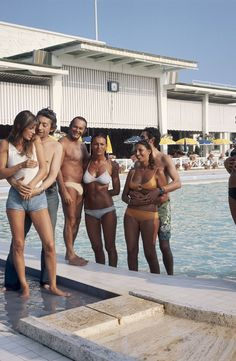 In the Mood for the Sud: Gear Up for Dior Cruise With These Vintage Snaps - Gallery - Style.com - Jane Birkin, Serge Gainsbourg, and co., 1972