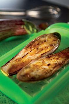 Berenjena confitada al estilo Indio | Recetas de verdura,Entrantes,Segundos platos,Horno | Recetas Lékué