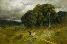 Edward Mitchell Bannister (1828-1901), Approaching Storm - 1886