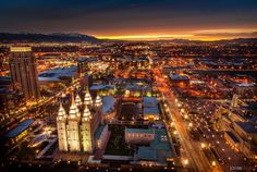 Salt Lake City LDS Temple Utah very pretty Salt Lake Temple, Salt Lake City Utah, Mormon Temples, Lds Temples, Slc Temple, Temple Square, Temple Pictures, Lds Pictures, Kirchen
