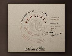 SANTA RITA | Floresta on Packaging Design Served
