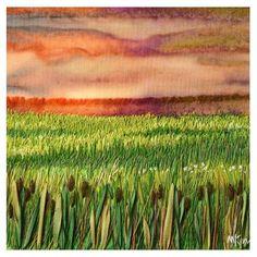 1/6 TAFA. My Sweet Prairie - Sky and Cattails