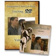Gregorian Chant for Kids, Volume 1 (GCK) | Latin - Catholic Heritage Curricula