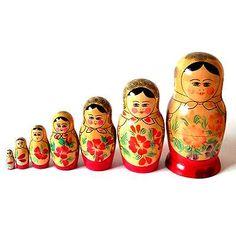 matryoshka doll 7 sisters