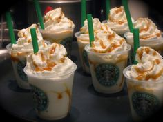 20 Starbucks Drinks You Had No Idea Actually Existed  - Delish.com. Butter Beer frap