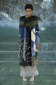 Fendi's Autumn-Winter 2017 haute couture show, Trevi Fountain, Rome, Karl…