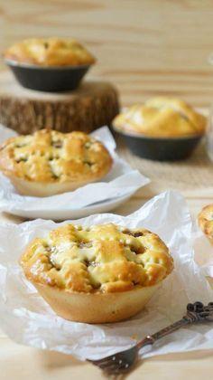 Tortinha de Banana   Vídeos e Receitas de Sobremesas