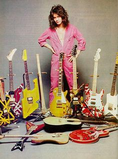 eddie van halen | Guitar collection