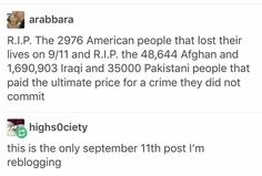 So true. People blame the middle Eastern people for terrorists, when really they suffer the most from them.>> not to mention the discrimmination they face in north america due to the actions of a few :/ A Silent Voice, Intersectional Feminism, Pro Choice, The More You Know, Faith In Humanity, Real Talk, Equality, Just In Case, Decir No