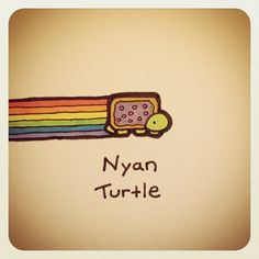 Nyan Turtle #turtleadayjuly - @turtlewayne- #webstagram
