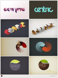 Logo Designs by Paul Lee for Centric Identity