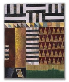 Michael James Studio Quilts Selected work 1985 - 1999 cottons: dyed, hand-painted; machine-sewn