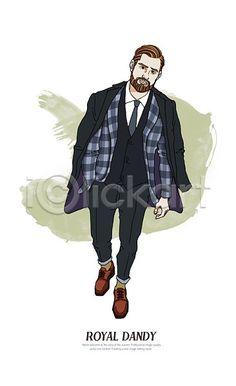 #royal #dandy #image #illustration #iclickart #아이클릭아트