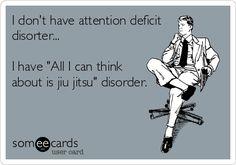 Martial arts humor. BJJ fanatics