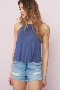 Strappy Back Swing Cami