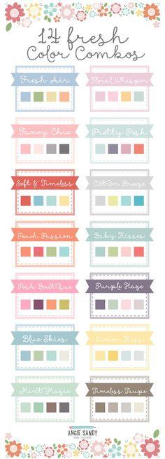 Super, wenn man einfach mal keine Ahnung hat, welche Farben man nehmen möchte.