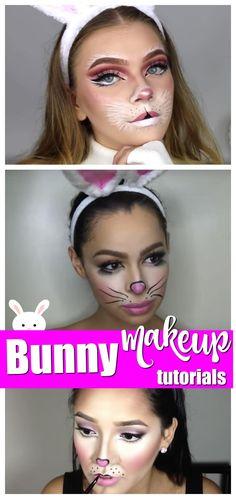 Bunny Makeup Tutorials #easter #halloween #makeup #bunny #tutorial