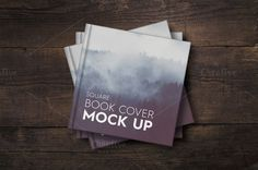 Ad: SALE - Square Book Cover Mockup by attraax on Square Book Cover Mock UP - High quality - 300 DPI - px - Organized layers - Easy to edit Mockup Templates, Print Templates, Design Templates, Business Card Mock Up, Business Brochure, Stickers Design, Postcard Mockup, Branding, Artwork Display