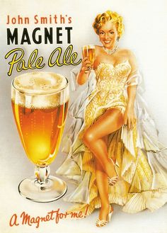 Beer advert 1950s