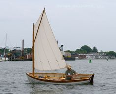 Catspaw Dinghy - small, wooden, classic