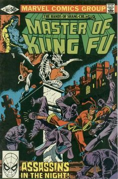 Master of Kung Fu # 102 by Gene Day Book Cover Art, Comic Book Covers, Comic Books Art, Comic Art, Book Art, Iron Fist Powers, Marvel Movie Posters, Marvel Comics Superheroes, Marvel Comic Character