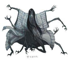 """DDF Jorogumo"" by ZachariahRoane Monster Concept Art, Fantasy Monster, Monster Art, Monster High, Fantasy Character Design, Character Design Inspiration, Character Art, Writing Inspiration, Fantasy Kunst"