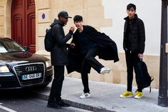 You've Got Male: On the Street With the Men of Fashion Week - Gallery - Style.com #streetstyle #fashionweek