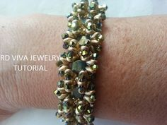 Tutorial Norwich Bracelet by Vivatutorial on Etsy