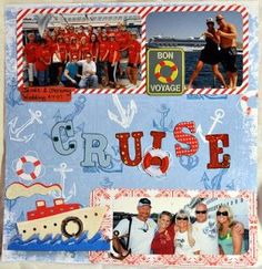 scrapbook page layouts cruise jamaica Cruise Scrapbook Pages, Scrapbook Titles, Disney Scrapbook, Scrapbook Page Layouts, Travel Scrapbook, Scrapbook Cards, Scrapbooking Ideas, Disney Halloween Cruise, Disney Cruise